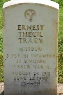 TRACY, ERNEST THECIL - Arapahoe County, Colorado | ERNEST THECIL TRACY - Colorado Gravestone Photos