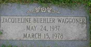 WAGGONER, JACQUELINE - Arapahoe County, Colorado   JACQUELINE WAGGONER - Colorado Gravestone Photos