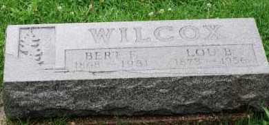 WILCOX, HERBERT FORTICE - Arapahoe County, Colorado | HERBERT FORTICE WILCOX - Colorado Gravestone Photos