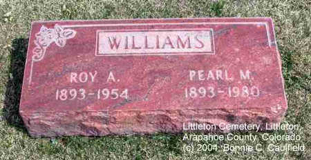WILLIAMS, PEARL M. - Arapahoe County, Colorado | PEARL M. WILLIAMS - Colorado Gravestone Photos