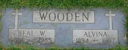 WOODEN, BEAL W - Arapahoe County, Colorado | BEAL W WOODEN - Colorado Gravestone Photos