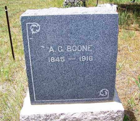BOONE, A G - Archuleta County, Colorado | A G BOONE - Colorado Gravestone Photos