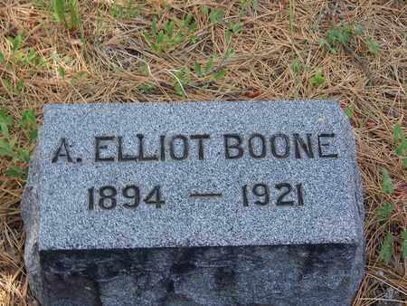 BOONE, A ELLIOT - Archuleta County, Colorado | A ELLIOT BOONE - Colorado Gravestone Photos