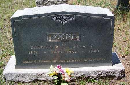 BOONE, ELLA V - Archuleta County, Colorado | ELLA V BOONE - Colorado Gravestone Photos