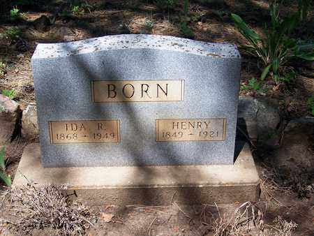 "BORN, ""DUTCH"" HENRY (FAMOUS) - Archuleta County, Colorado 