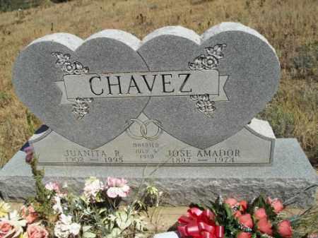 CHAVEZ, JOSE AMADOR - Archuleta County, Colorado | JOSE AMADOR CHAVEZ - Colorado Gravestone Photos