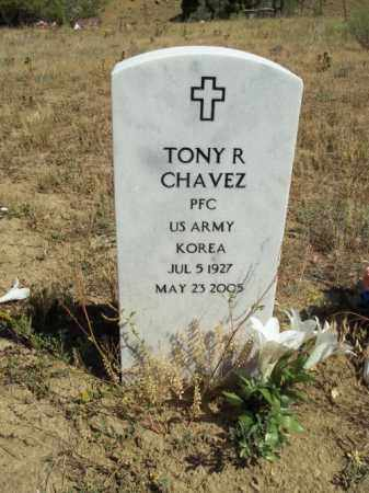 CHAVEZ, TONY R. - Archuleta County, Colorado | TONY R. CHAVEZ - Colorado Gravestone Photos