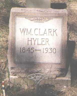 HYLER, WILLIAM CLARK - Archuleta County, Colorado   WILLIAM CLARK HYLER - Colorado Gravestone Photos