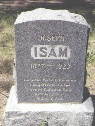 ISAM, JOSEPH - Archuleta County, Colorado | JOSEPH ISAM - Colorado Gravestone Photos