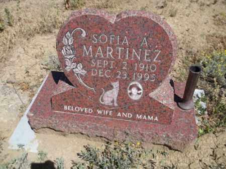 MARTINEZ, SOFIA A. - Archuleta County, Colorado | SOFIA A. MARTINEZ - Colorado Gravestone Photos