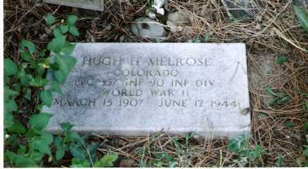 MELROSE, HUGH  HUDSON - Archuleta County, Colorado | HUGH  HUDSON MELROSE - Colorado Gravestone Photos