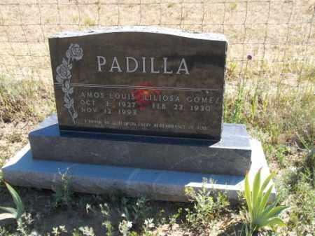 PADILLA, AMOS LOUIS - Archuleta County, Colorado | AMOS LOUIS PADILLA - Colorado Gravestone Photos