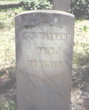 WALKER, W. H. - Archuleta County, Colorado | W. H. WALKER - Colorado Gravestone Photos