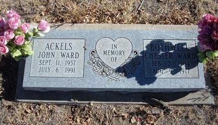 ACKELS, JOHN WARD - Baca County, Colorado | JOHN WARD ACKELS - Colorado Gravestone Photos