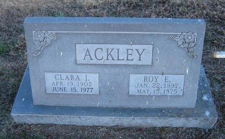 ACKLEY, ROY ELSIE - Baca County, Colorado | ROY ELSIE ACKLEY - Colorado Gravestone Photos