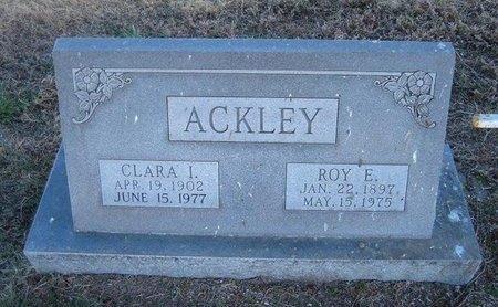 ACKLEY, CLARA I - Baca County, Colorado   CLARA I ACKLEY - Colorado Gravestone Photos