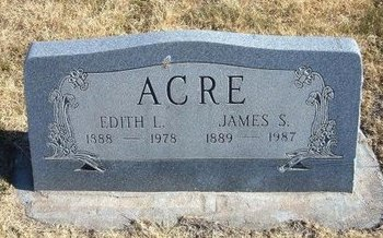 ACRE, EDITH LETITIA - Baca County, Colorado | EDITH LETITIA ACRE - Colorado Gravestone Photos
