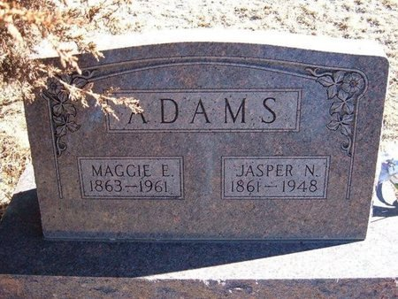 ADAMS, JASPER N - Baca County, Colorado | JASPER N ADAMS - Colorado Gravestone Photos