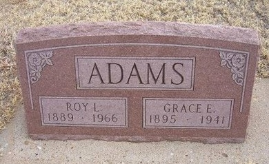 ADAMS, GRACE E - Baca County, Colorado | GRACE E ADAMS - Colorado Gravestone Photos