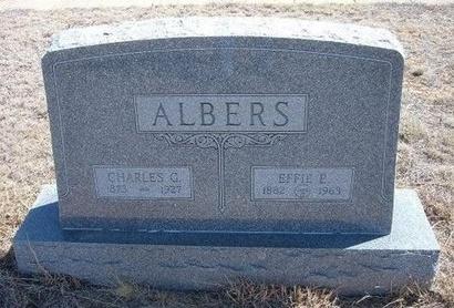 ALBERS, EFFIE E - Baca County, Colorado | EFFIE E ALBERS - Colorado Gravestone Photos