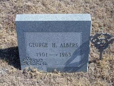 ALBERS, GEORGE H - Baca County, Colorado | GEORGE H ALBERS - Colorado Gravestone Photos