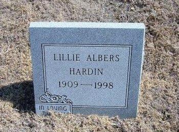 ALBERS, LILLIE - Baca County, Colorado | LILLIE ALBERS - Colorado Gravestone Photos