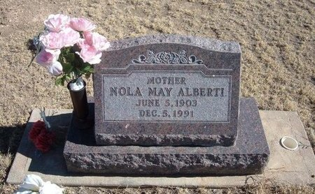 ALBERTI, NOLA MAY - Baca County, Colorado | NOLA MAY ALBERTI - Colorado Gravestone Photos