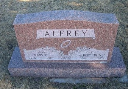 "ALFREY, ALBERT ""DUTCH"" - Baca County, Colorado 