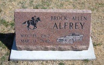 ALFREY, BROCK ALLEN - Baca County, Colorado | BROCK ALLEN ALFREY - Colorado Gravestone Photos