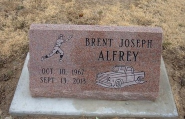 ALFREY, BRENT JOSEPH - Baca County, Colorado | BRENT JOSEPH ALFREY - Colorado Gravestone Photos