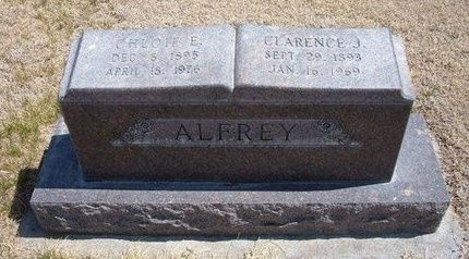 ALFREY, CLARENCE JAMES - Baca County, Colorado | CLARENCE JAMES ALFREY - Colorado Gravestone Photos