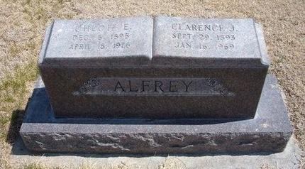 ALFREY, CLARENCE JAMES - Baca County, Colorado | CLARENCE JAMES ALFREY - Colorado Gravestone Photos