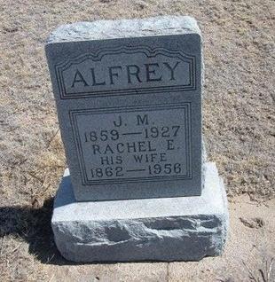ALFREY, J M - Baca County, Colorado   J M ALFREY - Colorado Gravestone Photos