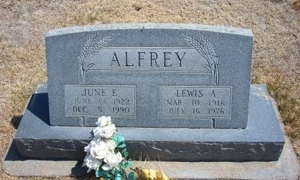 ALFREY, JUNE ELIZABETH - Baca County, Colorado | JUNE ELIZABETH ALFREY - Colorado Gravestone Photos