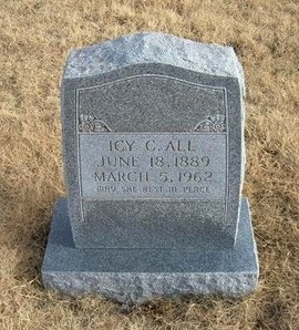 ALL, ICY C - Baca County, Colorado | ICY C ALL - Colorado Gravestone Photos