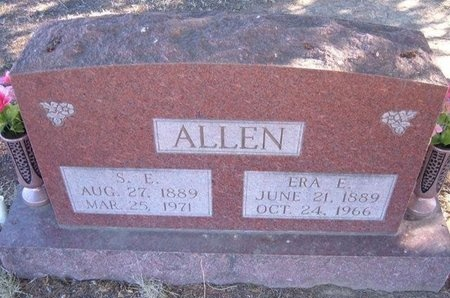 ALLEN, ERA E - Baca County, Colorado   ERA E ALLEN - Colorado Gravestone Photos