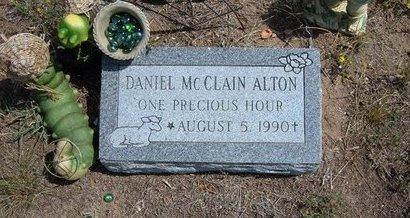 ALTON, DANIEL MCCLAIN - Baca County, Colorado | DANIEL MCCLAIN ALTON - Colorado Gravestone Photos