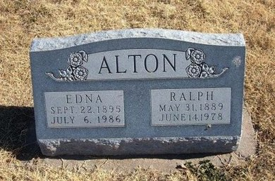 ALTON, RALPH - Baca County, Colorado | RALPH ALTON - Colorado Gravestone Photos