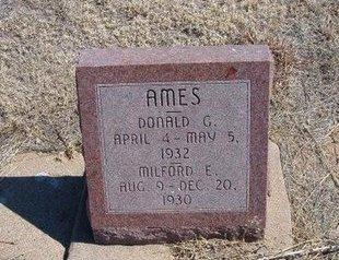 AMES, DONALD G - Baca County, Colorado | DONALD G AMES - Colorado Gravestone Photos