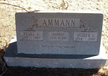 AMMANN, PEARL S - Baca County, Colorado | PEARL S AMMANN - Colorado Gravestone Photos