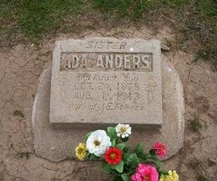 ANDERS, ADA - Baca County, Colorado | ADA ANDERS - Colorado Gravestone Photos