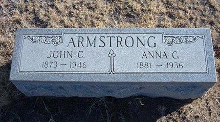 ARMSTRONG, ANNA C - Baca County, Colorado   ANNA C ARMSTRONG - Colorado Gravestone Photos