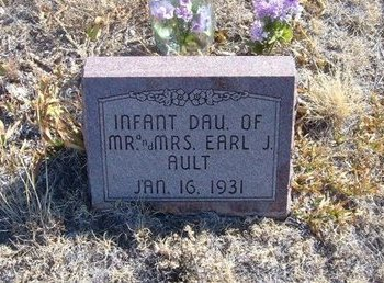 AULT, INFANT DAUGHTER - Baca County, Colorado | INFANT DAUGHTER AULT - Colorado Gravestone Photos