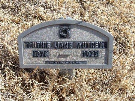 AUTREY, RUTHIE JANE - Baca County, Colorado   RUTHIE JANE AUTREY - Colorado Gravestone Photos