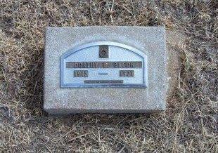BACON, DORTHY B - Baca County, Colorado | DORTHY B BACON - Colorado Gravestone Photos
