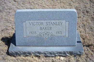 BAKER, VICTOR STANLEY - Baca County, Colorado | VICTOR STANLEY BAKER - Colorado Gravestone Photos