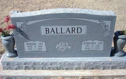 BALLARD, ROBERT LEE - Baca County, Colorado | ROBERT LEE BALLARD - Colorado Gravestone Photos