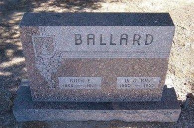 BALLARD, RUTH E - Baca County, Colorado | RUTH E BALLARD - Colorado Gravestone Photos