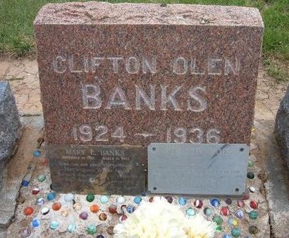 BANKS, OLEN HOYT - Baca County, Colorado | OLEN HOYT BANKS - Colorado Gravestone Photos