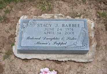 BARBEE, STACY J - Baca County, Colorado   STACY J BARBEE - Colorado Gravestone Photos